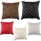 Multicolored Plaids Throw Pillow Case Square Cushion Cover Home Sofa Bed Decor