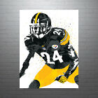 Ike Taylor Pittsburgh Steelers Poster FREE US SHIPPING $14.99 USD on eBay