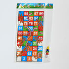 ebay search image for Traditional Snakes and Ladders Family Board Game Playset Children Toys Best Gift