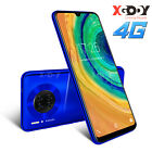 "4g Android 9.0 Mobile Phone 6.3"" Unlocked 8mp Smartphone Quad Core 2 Sim Mate 30"
