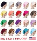 Kyпить Muslim Women Hijab Under Scarf Inner Cap Bone Bonnet Neck Cover Cap Head Wraps на еВаy.соm