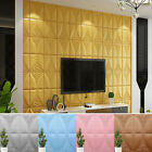 70*70cm 3D Wallpaper Brick TV Background PE Foam Panel Wall Sticker Decal 34US, used for sale  Shipping to South Africa