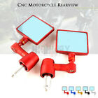 CNC Handle Bar End Rearview Side Mirror For KAWASKI VERSYS 1000 650 300 VULCAN/S