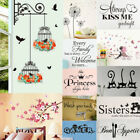 Vinyl Home Room Decor Art Quote Wall Decal Sticker Bedroom Removable Mural Rsa