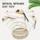 7383 Small Fish Funny Cat Toy Spring Cat Toy Home Playing Sturdy