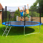 10/8FT Out/Indoor Jumping  Youth Kids Trampoline Exercise Safety Pad Enclosure image