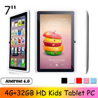 7'' HD Kids Tablet PC 4G 32GB Android 6.0 Quad Core 2 Camera WiFi bluetooth B