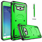 For Samsung Galaxy J7 2015 J700 Shockproof Case W/ Belt Clip Holster Stand Cover