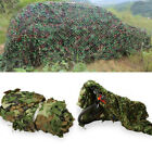 Camouflage Leaves Army Netting Cover Protection Camping Military Hiking Outdoor