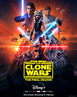Kyпить Star Wars The Clone Wars Season 7 Final Season decal Poster Print exclusive Yoda на еВаy.соm