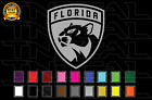 Florida Panthers Hockey Team Logo NHL Decal Sticker Car Truck Window Wall $14.84 USD on eBay