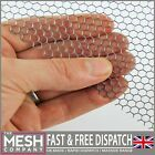 Galv Steel Hexagonal(4.5mm Hole x 5mm Pitch x 1mm Thick)Perforated Sheet Plate