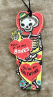 Hang Tags RETRO I FEEL IT IN MY BONES SKELETON VALENTINE TAGS 272 Gift Tags