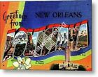 Greetings from NEW ORLEANS LOUISIANA Vintage Retro Decorative Metal Sign