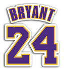 Lakers Kobe Bryant 24 Sticker Basketball Decals NBA on eBay