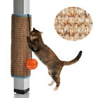 Ring Ball Bed Mat Cat Scratcher Pad Interactive Furniture Safety Kitten Toy TO