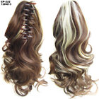40CM Synthetic Small Wave Ponytail Hair Piece Clip in Claw On Hair Extensions SN