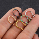 Fake Septum Ring Nose Non Pierced Cuff Silver Gold Jewelry Fake Faux Piercing Uk