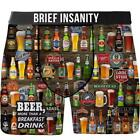 Brief Insanity Boxer Briefs - Beer For Breakfast