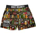 Brief Insanity Boxers - Beer For Breakfast