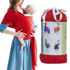 Adjustable Stretchy Breastfeeding Cover Soft for Baby Infants Carrier Sling Wrap