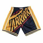 Mitchell & Ness NBA Golden State Warriors Men's Big Face Swingman Shorts