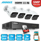 ANNKE H.265+ 8CH DVR 5MP Video Outdoor Security Camera System EXIR Night Vision