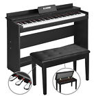 Купить 88 Key Electronic Keyboard Digital Piano LCD General/Hammer Action W/ Pedal Seat