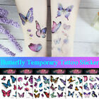 Temporary Tattoo Watercolor Butterfly Sticker Waterproof Children Body Art $1.02 USD on eBay