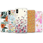 Flowers floral pattern texture Phone Case cover fit  iPhone 11/8/7/6/5/4/X $7.47 USD on eBay