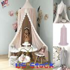 Lace Home Play Tent Bed Canopy Mosquito Net Baby Dome Curtain Kids Game DIY US image