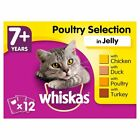 Whiskas Senior 7+ Multipack Variety Pouches Cat Food | Cats