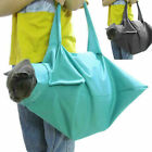 Cat Pet Carrier Pouch Out Travel Backpack Blue & Black D1W2