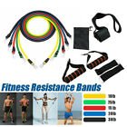 Kyпить Resistance Bands Yoga Pilates Latex Exercise Fitness Tube Workout Band 11PCS на еВаy.соm