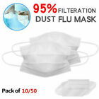 50PCS Face Mouth Giant stock 3-ply Cover Blue Protective DisposaIe US STOCK