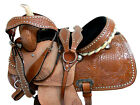 COMFY TRAIL WESTERN SADDLE 15 16 OAK TOOLED LEATHER PLEASURE SHOW HORSE TACK SET