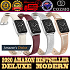 For Apple Watch Band Series 6 5 4 3 2 1 Iwatch Genuine Leather Strap 38 40 42 44