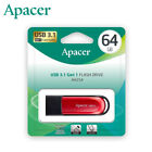 Apacer 16GB 32GB 64GB Retractable Design USB 3.1 Gen 1 USB Flash Pen Drive [RED]