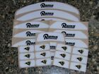 LOS ANGELES ST. LOUIS RAMS Bumper Football Helmet Decal Set Qty (1) Set 3M 20MIL $6.99 USD on eBay