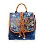 Montana West Embroidered Backpack Western Country Designer Embroidered Bag image
