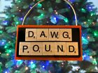 Cleveland Browns Christmas Ornament DAWG POUND Scrabble Tiles $8.99 USD on eBay