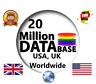 More images of 20 Million UK, USA & Worldwide ✔️✔️ Consumer Email List Sales Database ✔️✔️