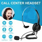 USB Noise Cancelling Microphone Headset Call Centre Office Telephone Headphones
