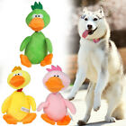Pet Dog Toys Chew Puppy Dog Squeaky Toys Plush Sound Duck for Small Dogs
