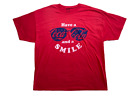 Coca-Cola Men's Have A Coke And A Smile Sunglasses Licensed T-Shirt Red New $14.99  on eBay