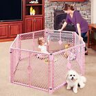 Baby Play Pen Yard Portable 6-Panel Toddler Safety Gate Home Indoor Outdoor Fun