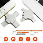 4 in1 USB Flash Drive - LOT For iPhone iPad Andriod Phone PC Lightning/Micro USB
