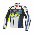 Valentino Rossi VR46 Motogp Motorcycle Leather Racing Jacket