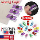 20/100x Magic Sewing Clips Clamp For Craft Quilting Sewing Knitting Crochet Usa