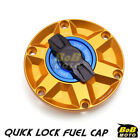 GOLD FCR 1/4 Quick Lock Gas Fuel Cap For Triumph Tiger 1050 SE 12 13 14 15 16 $58.8 USD on eBay